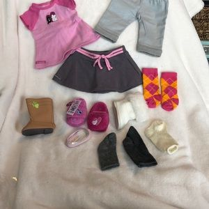 Lot American Girl doll replacement clothes pieces
